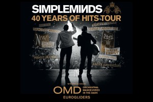 Simple Minds: 40 Years of Hits Tour