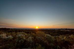 Bold Summer Sunset Walk