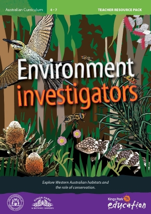 Environment Investigators program cover