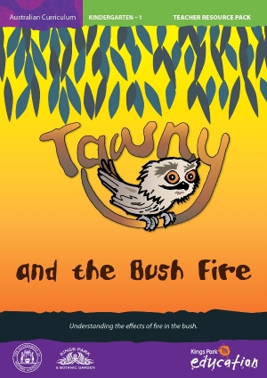 Tawny and the Bushfire program cover