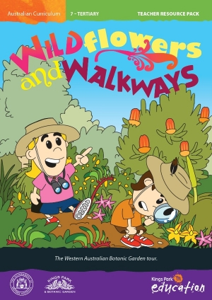 Wildflowers and Walkways program cover