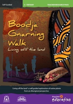Boodja Gnarning Walk program cover