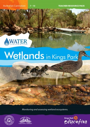 Wetlands in Kings Park program cover