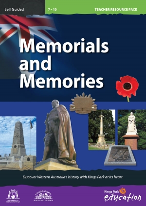 Memorials and Memories program cover