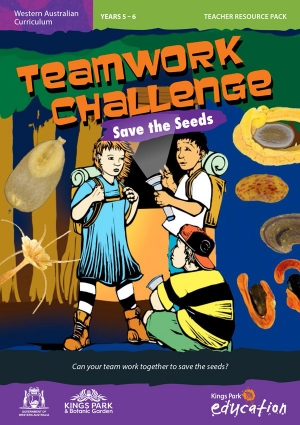 Save the seeds: Teamwork Challenge program cover