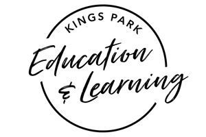 Kings Park Education and Learning logo