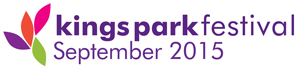 Kings Park Festival 2015 logo