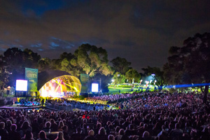 A concert in Kings Park and Botanic Garden. Photo: J. Thomas.
