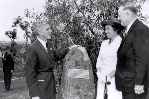 Opening of WA Botanic Garden in 1965.