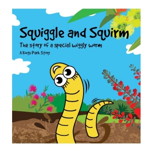 'Squiggle and Squirm' children's book cover