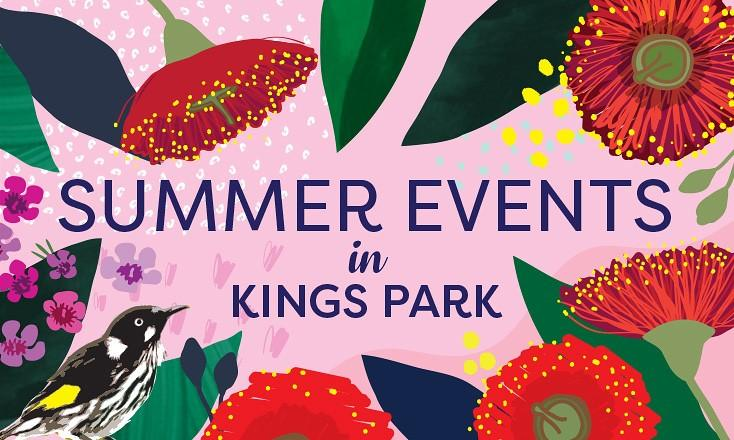 Kings Park summer events promotion - Summer events in Kings Park