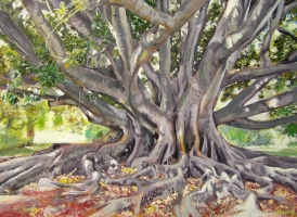 'Big Fig' by artist Howie Smallman
