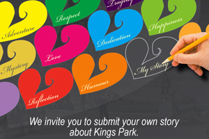 We invite you to submit your own story about Kings Park.