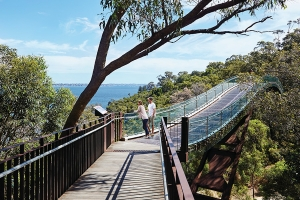 Lotterywest Walkway. Photo: Tourism WA.